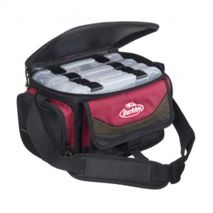 BERKLEY TORBA SYSTEM BAG L RED BLACK +4 BOXES