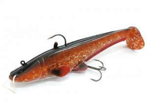 Dam EffZett Real Life Catfish 20cm 125g - Brown