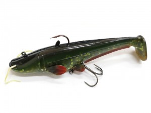 Dam EffZett Real Life Catfish 25cm 220g - Green